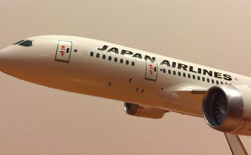 Boeing 787-8 Japan Airlines 1:200 Hasegawa
